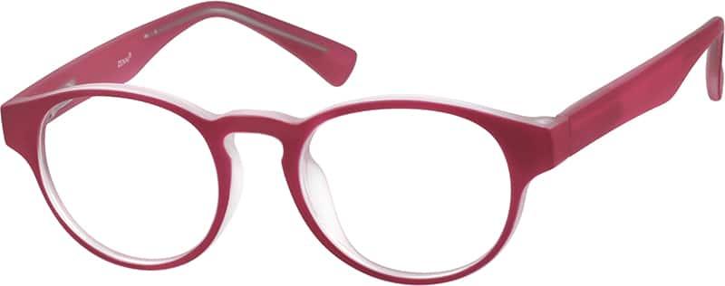 GirlFull RimAcetate/PlasticEyeglasses #2010818