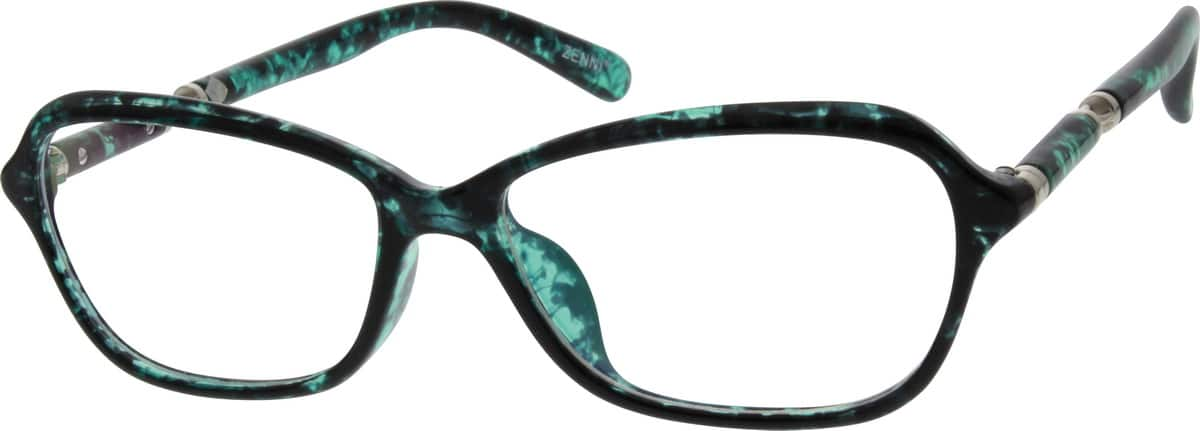 Women Full Rim Acetate/Plastic Eyeglasses #201126