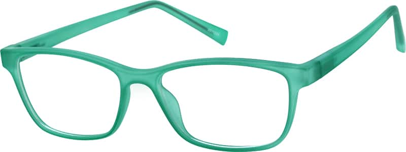 Girls' Celadon Wayfarer Eyeglasses