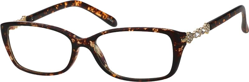 Women's Elegant Rectangular Eyeglasses
