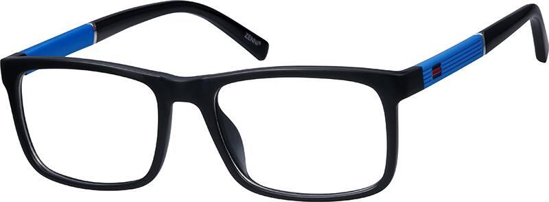 MenFull RimAcetate/PlasticEyeglasses #2012315