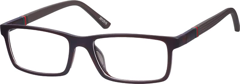 Brown Rectangle Active Eyeglasses #20125 | Zenni Optical