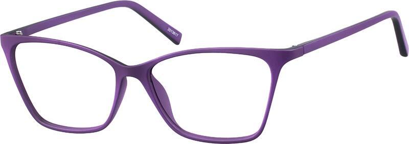 two tone cat eye eyeglasses