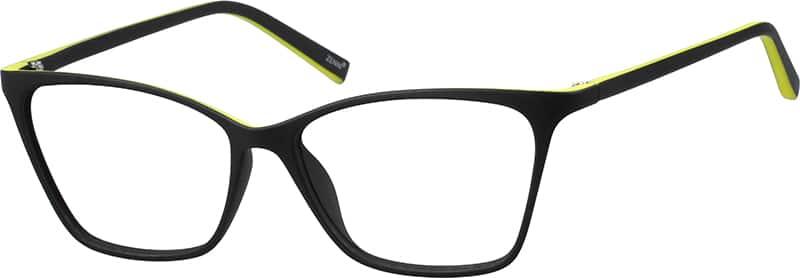 Eyeglass Frames Two Tone : Purple Two-Tone Cat-Eye Eyeglasses #20136 Zenni Optical ...