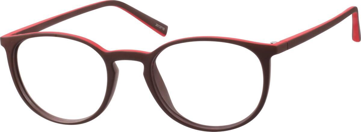 two tone round eyeglasses