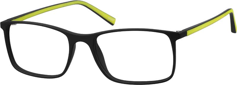 Two-Tone Square Eyeglasses