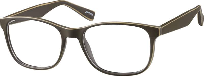 Zenni Optical Square Glasses : Black Square Eyeglasses #20172 Zenni Optical Eyeglasses