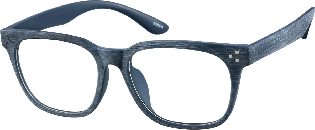 Blue Manzanita Square Glasses #20203 Zenni Optical ...