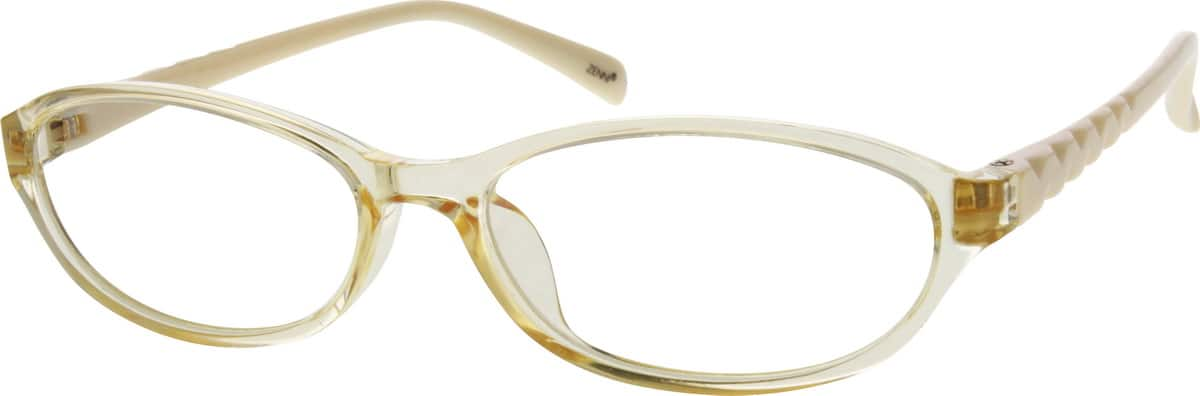womens-plastic-full-rim-oval-eyeglass-frame-203022