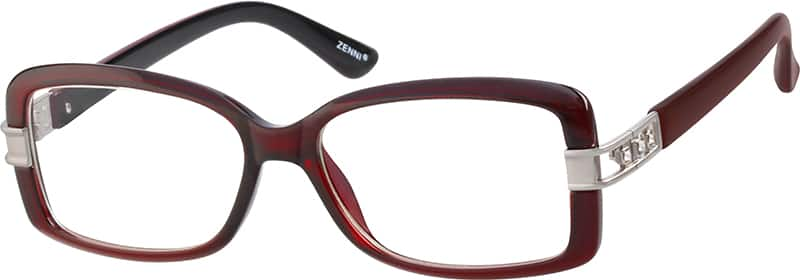 Women Full Rim Acetate/Plastic Eyeglasses #205315