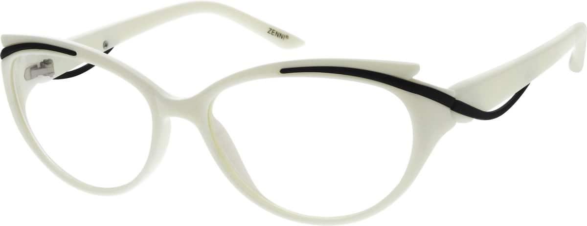 women full rim acetateplastic eyeglasses 205630