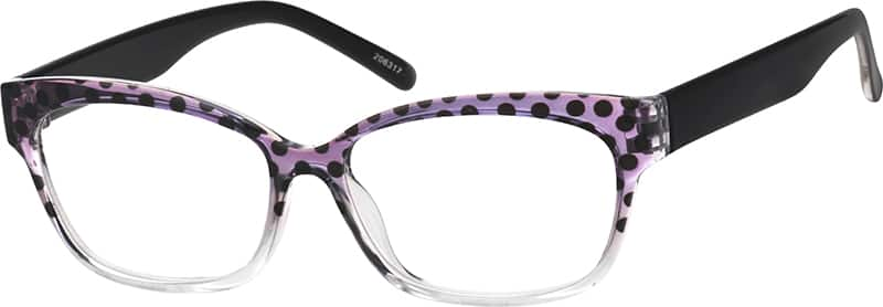 Women Full Rim Acetate/Plastic Eyeglasses #206318