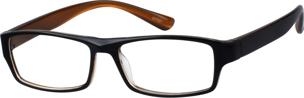 MenFull RimAcetate/PlasticEyeglasses #207021