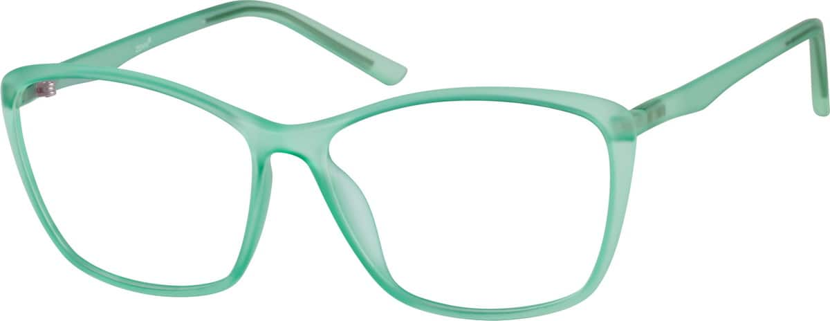 Green Flexible Plastic Full-Rim Frame #2073 Zenni ...