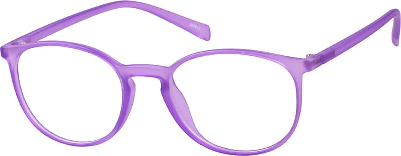 Purple Round Eyeglasses #2074 Zenni Optical Eyeglasses