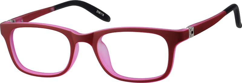 girls-acetate-plastic-rectangle -eyeglass-frames-208118