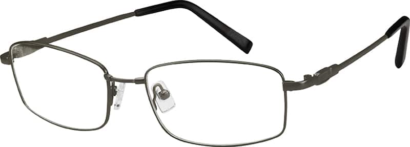 Men Full Rim Memory Titanium Eyeglasses #211112