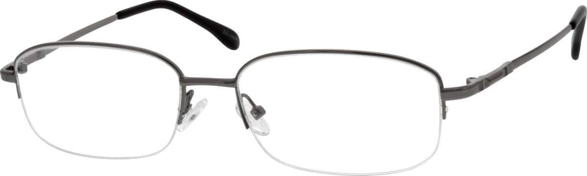 MenHalf RimMemory TitaniumEyeglasses #212512