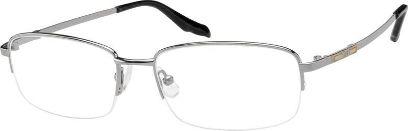 MenHalf RimMemory TitaniumEyeglasses #212611