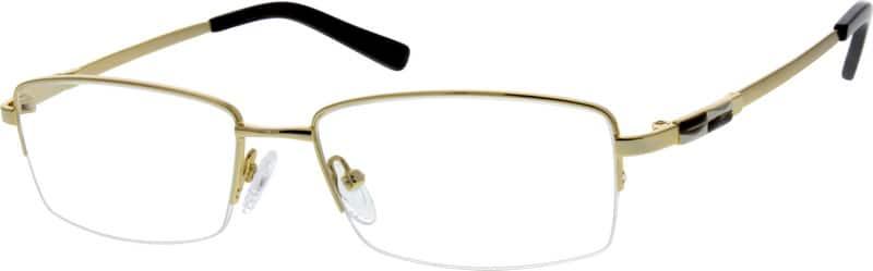 MenHalf RimMemory TitaniumEyeglasses #216821