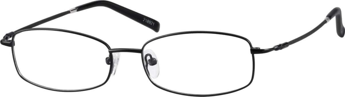 Bendable (Memory) Titanium Full-Rim Frame with Stainless Steel Bridge