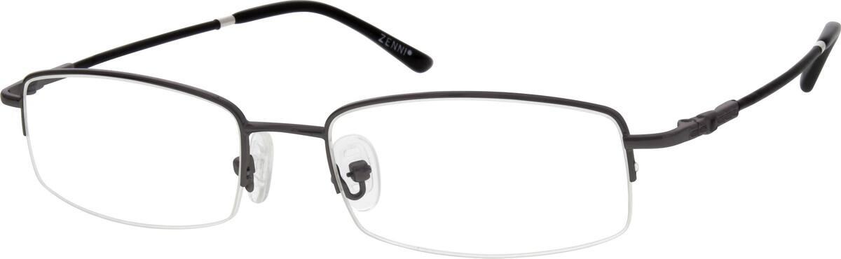 MenHalf RimMemory TitaniumEyeglasses #219811