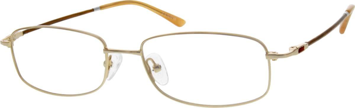 UnisexFull RimMemory TitaniumEyeglasses #219914