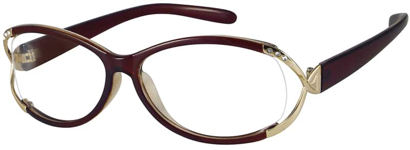 Women Full Rim Acetate/Plastic Eyeglasses #221217