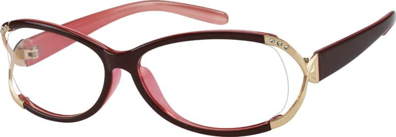 WomenFull RimAcetate/PlasticEyeglasses #221218