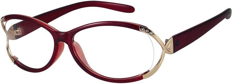 WomenFull RimAcetate/PlasticEyeglasses #221215