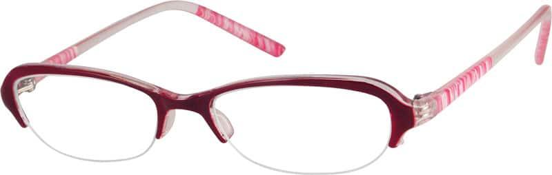 WomenHalf RimAcetate/PlasticEyeglasses #222021