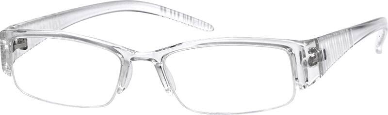 UnisexHalf RimAcetate/PlasticEyeglasses #222123