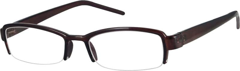 WomenHalf RimAcetate/PlasticEyeglasses #222516