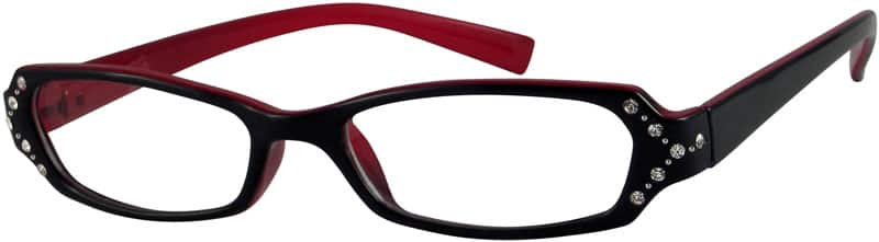 Women Full Rim Acetate/Plastic Eyeglasses #224117