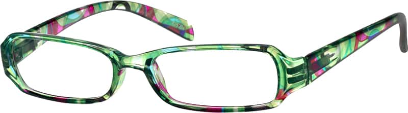 Women's Mod Rectangular Eyeglasses