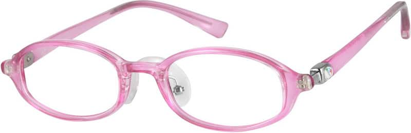 GirlFull RimAcetate/PlasticEyeglasses #226217