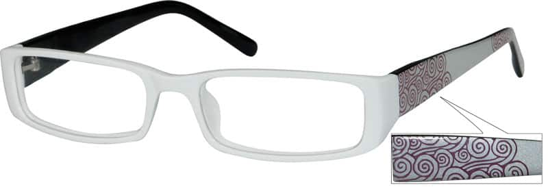 Women Full Rim Acetate/Plastic Eyeglasses #228022