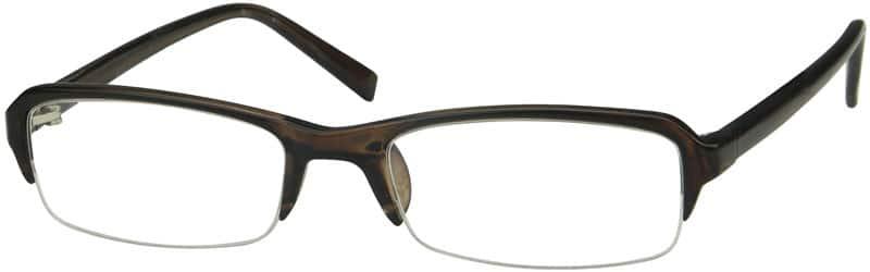 WomenHalf RimAcetate/PlasticEyeglasses #229015