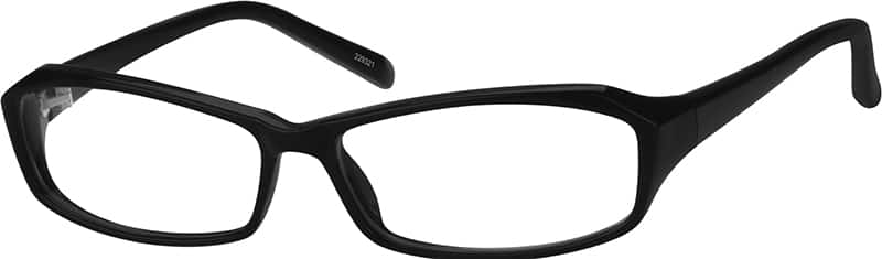 Black 2293 Stylish Plastic Full-Rim Frame