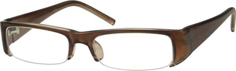 WomenHalf RimAcetate/PlasticEyeglasses #229815