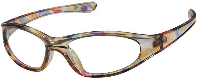 GirlFull RimAcetate/PlasticEyeglasses #230517