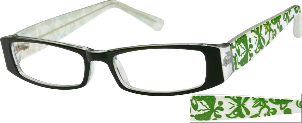 Women Full Rim Acetate/Plastic Eyeglasses #233024
