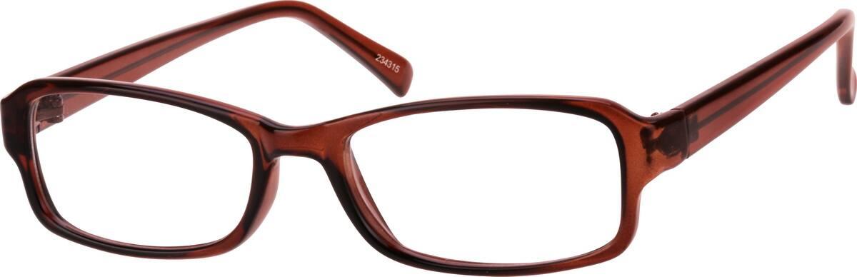 UnisexFull RimAcetate/PlasticEyeglasses #234321