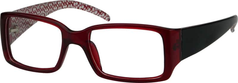 Women Full Rim Acetate/Plastic Eyeglasses #235318