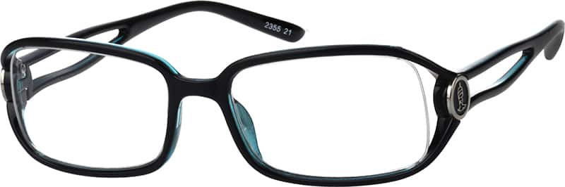 Women's Fashionable Rectangular Eyeglasses