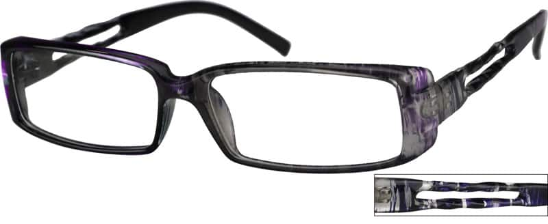 WomenFull RimAcetate/PlasticEyeglasses #235716
