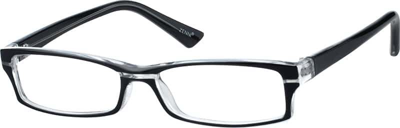Men's Sporty Rectangular Eyeglasses