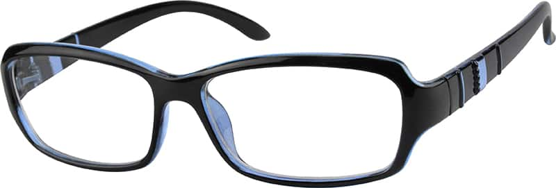 Women Full Rim Acetate/Plastic Eyeglasses #237616