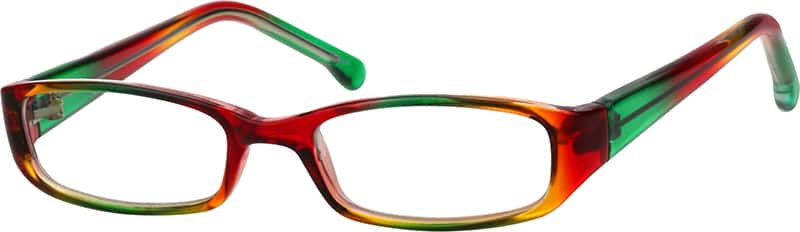 Children's Plastic Full-Rim Frame With Spring Hinges