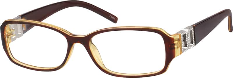 Women Full Rim Acetate/Plastic Eyeglasses #238815